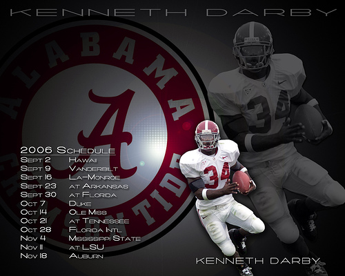 Alabama Crimson Tide Wallpaper 500x400