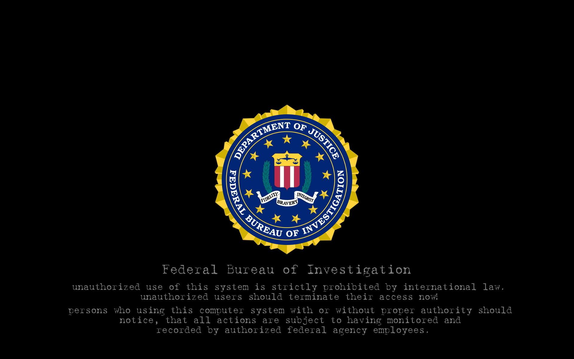 Top 5 FBI HD Desktop Wallpapers Collection 1920x1200