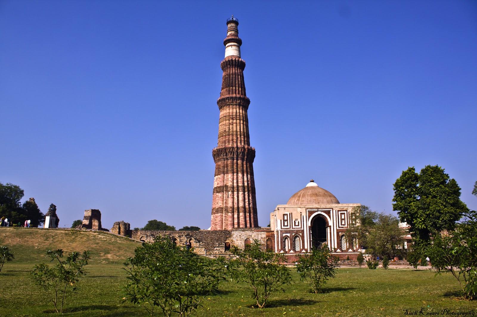 Qutub Minar New Delhi India Wallpaper 28425   Baltana 1600x1066