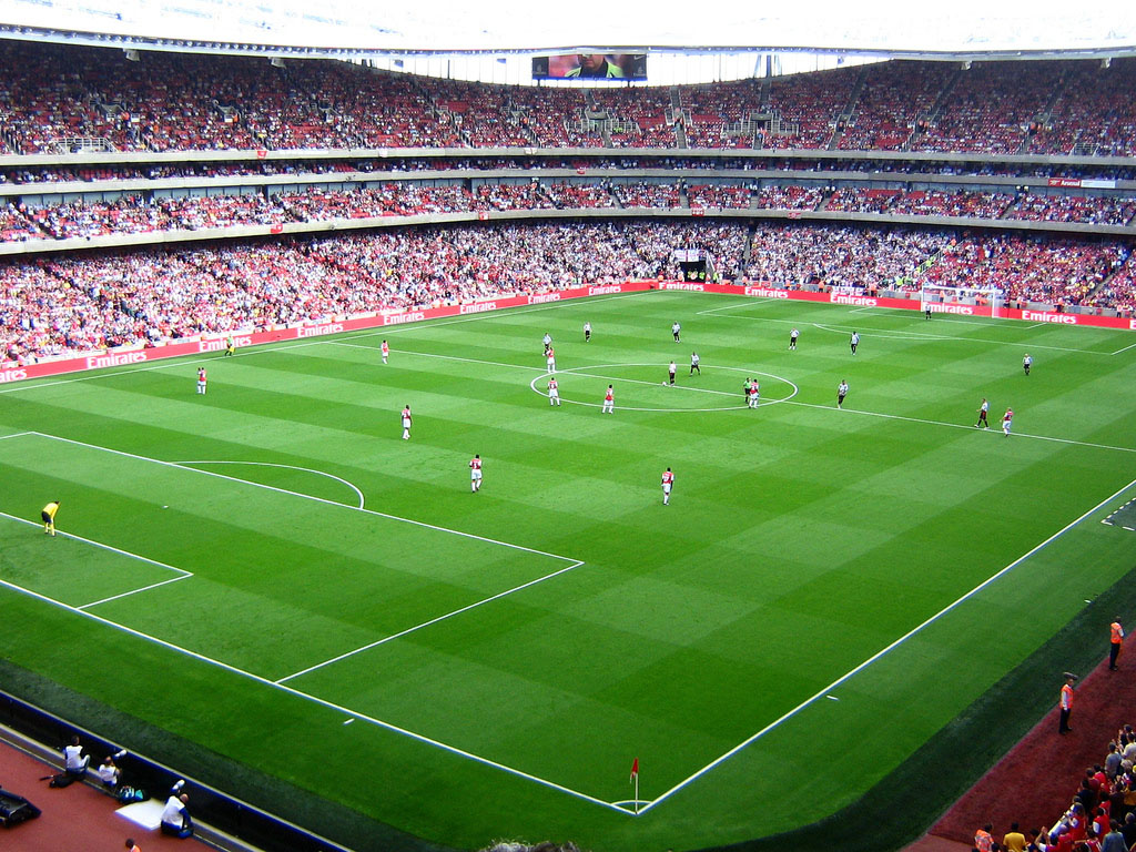 Football stadium wallpaper wallpapersafari - Soccer stadium hd ...