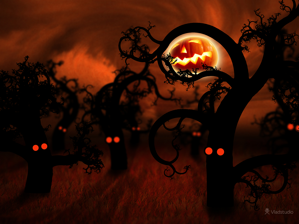 Happy Halloween Desktop Wallpaper 1152x864