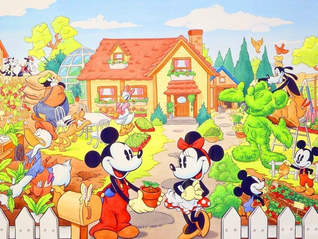 Home Sweet Home   Classic Disney Wallpaper 7467181 1024x768