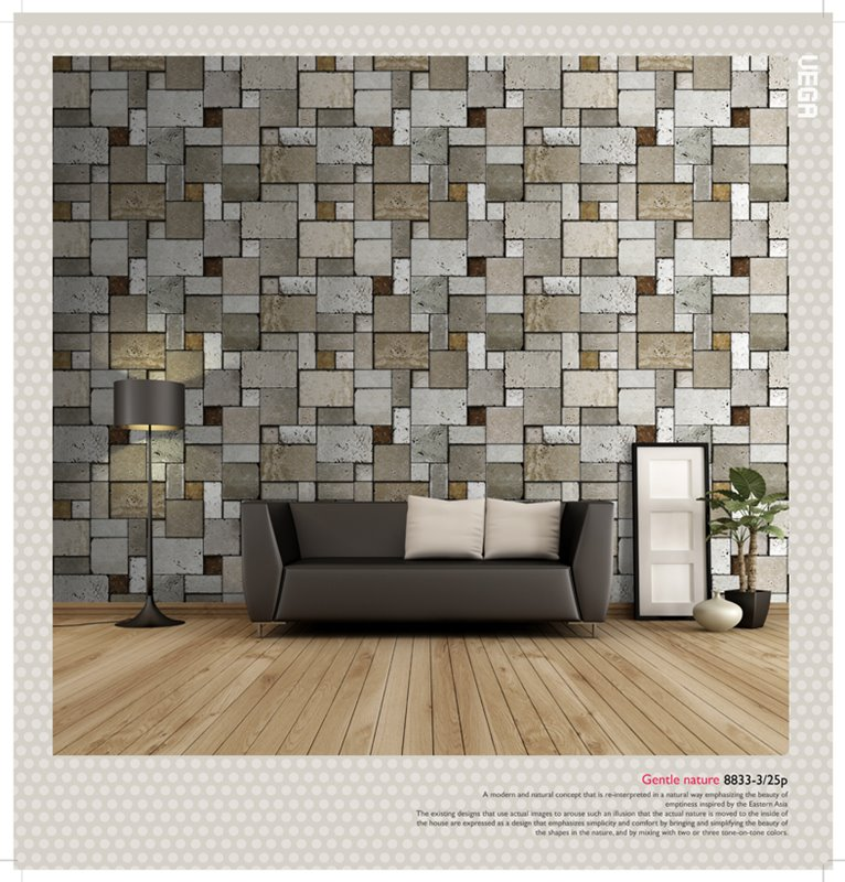 3d home wallpaper wallpapersafari for Home wallpaper korea