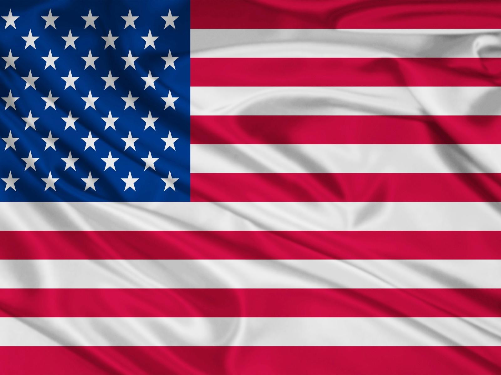 1600x1200 United States Flag desktop PC and Mac wallpaper 1600x1200