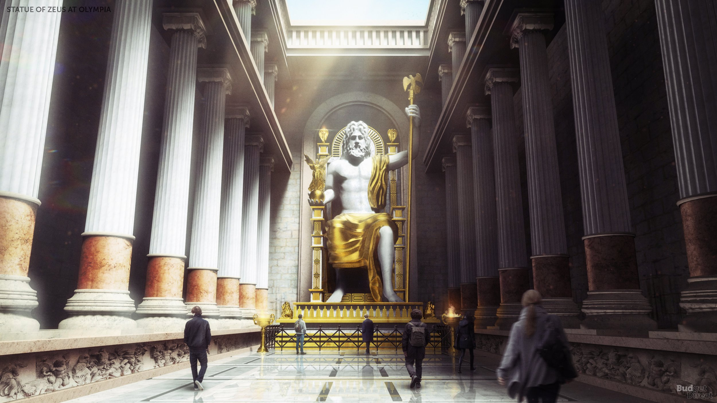 The Seven Wonders of the Ancient World Digitally Reconstructed 2500x1406