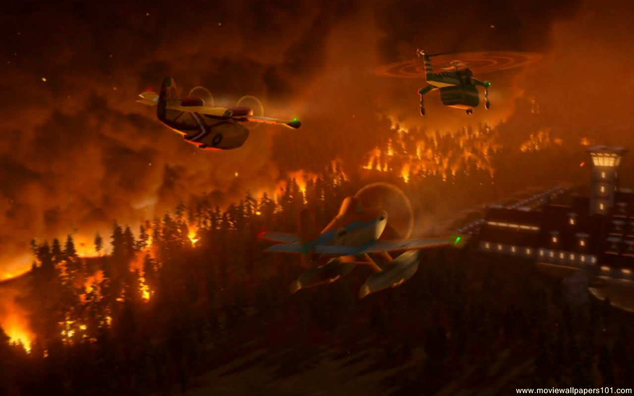 Planes Fire Rescue wallpaper   1280x800 MovieWallpapers101com 1280x800