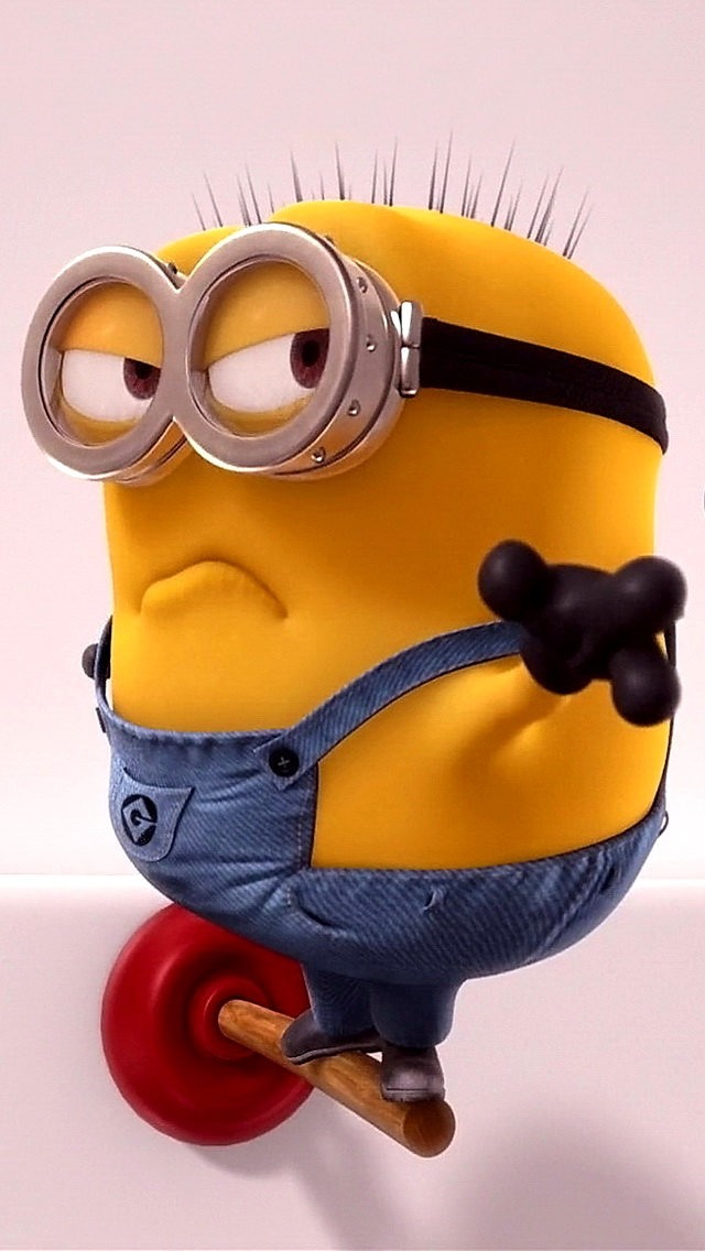 Despicable me screensavers and wallpaper wallpapersafari - Despicable me minion screensaver ...