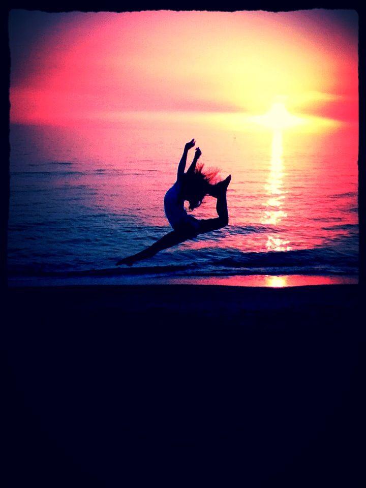 Me doing gymnastics on the beach  Jenna Steinmetz Dance 720x960