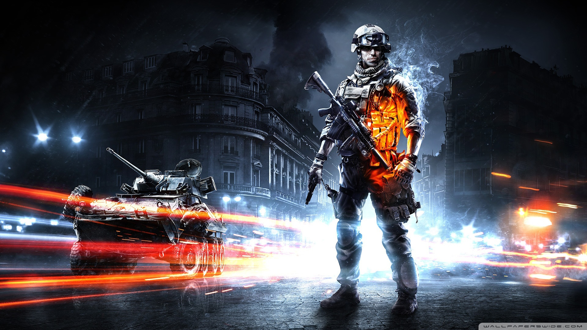 RSS feed Report content BF3 Amazing HD Wallpaper view original 1920x1080