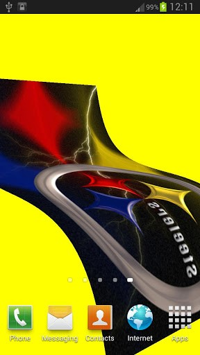 Steelers 3D flag is a Live Wallpaper with waving flag animation 288x512