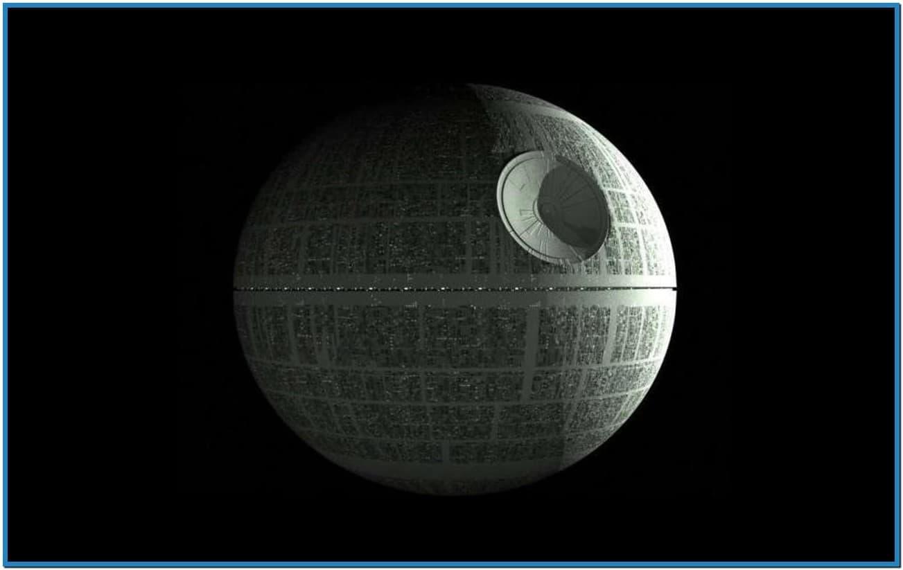 Star wars screensaver death star   Download 1303x823