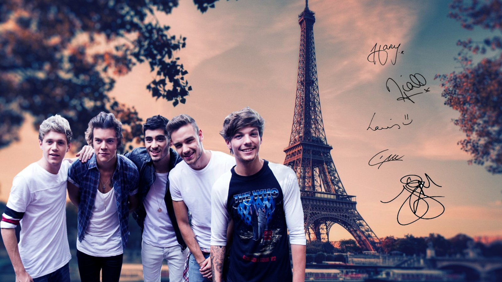 One Direction wallpaper by Madi Milkshakes 1600x900