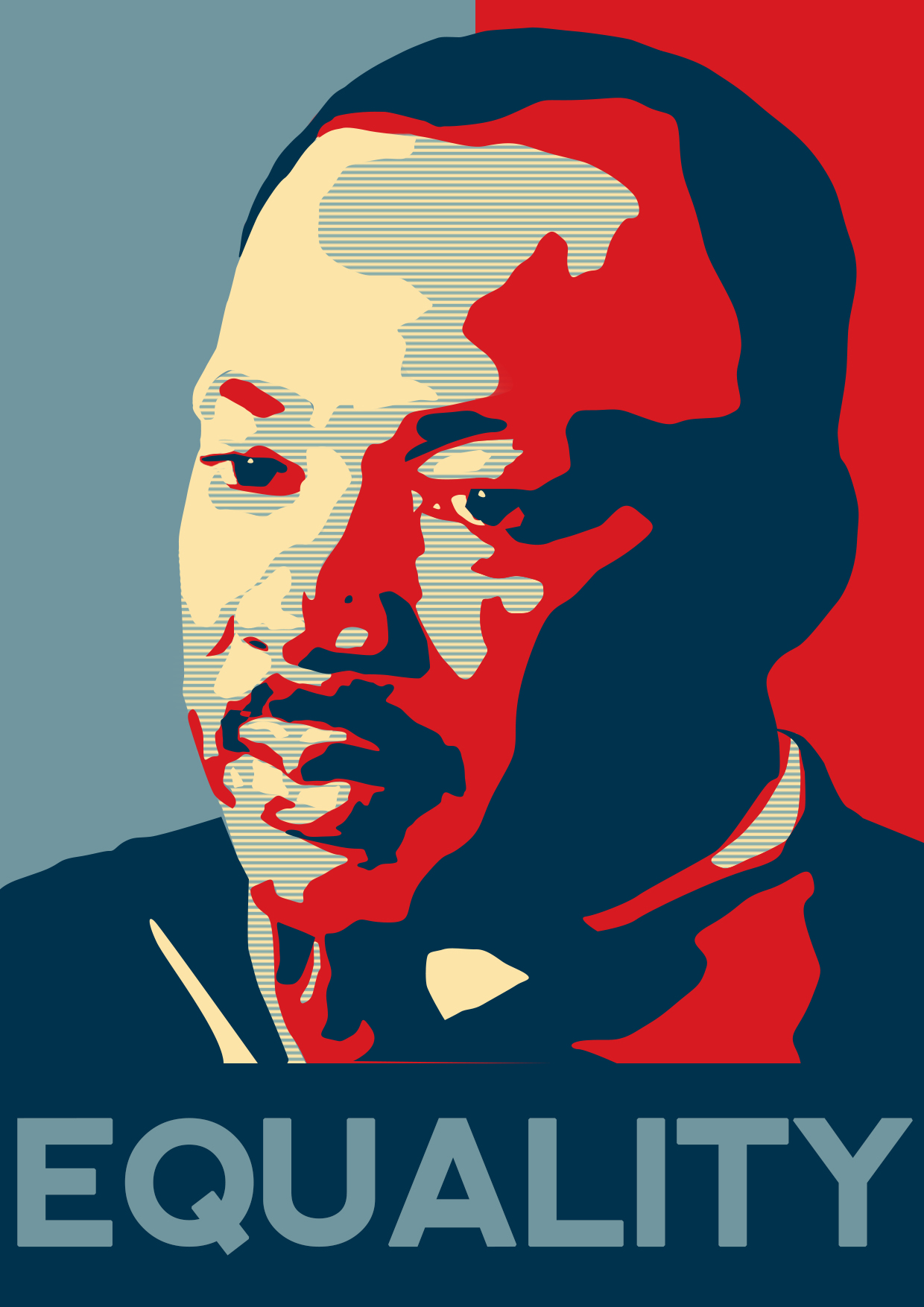 Free Download Martin Luther King Poster By Malteblom 1240x1754