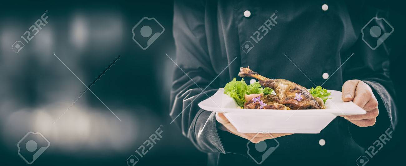 The Chef Keeps Perfect Made Dinner Chef Cooking Restaurant Food 1300x532