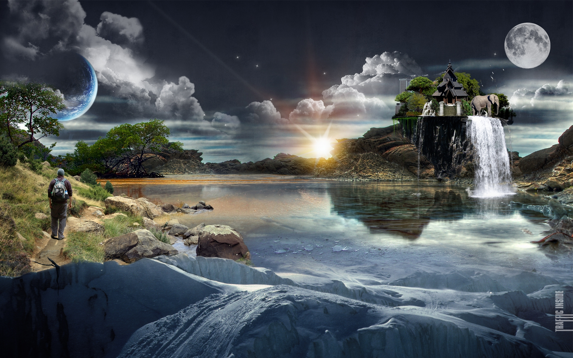 Awesome HD 3D Wallpapers