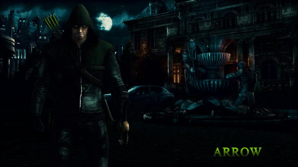 Arrow Cw Wallpaper Arrow wallpaper update by 1024x576