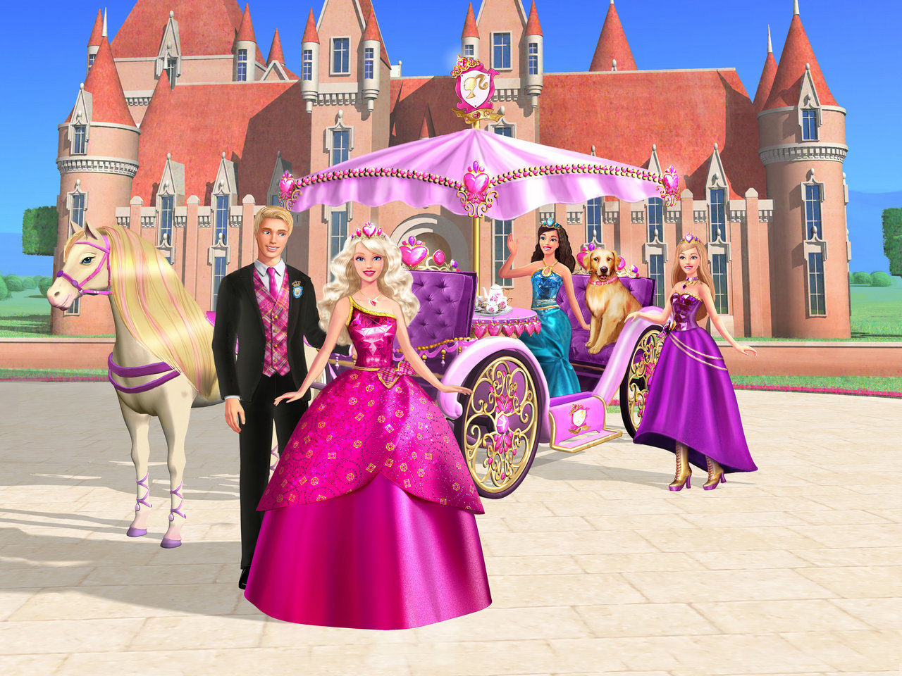 pelculas de barbie imgenes Princess Charm School Stills HD fondo 1280x960