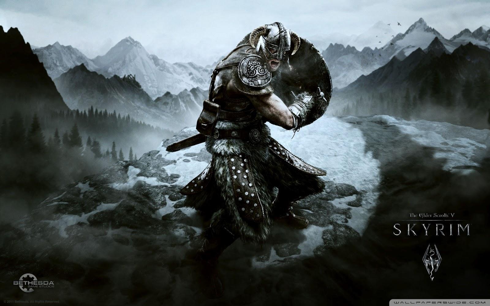 55 Skyrim Wallpaper 1080p On Wallpapersafari