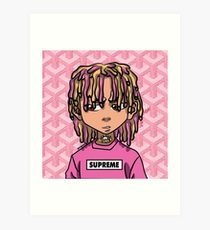 Lil Pump Design Illustration Art Prints Redbubble 210x230