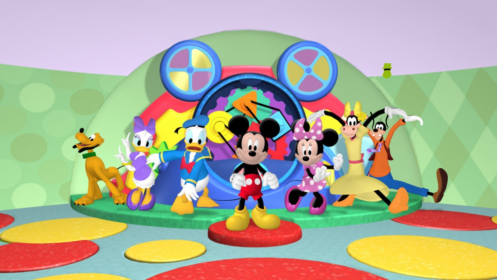 [49+] Mickey Mouse Clubhouse Wallpaper on WallpaperSafari
