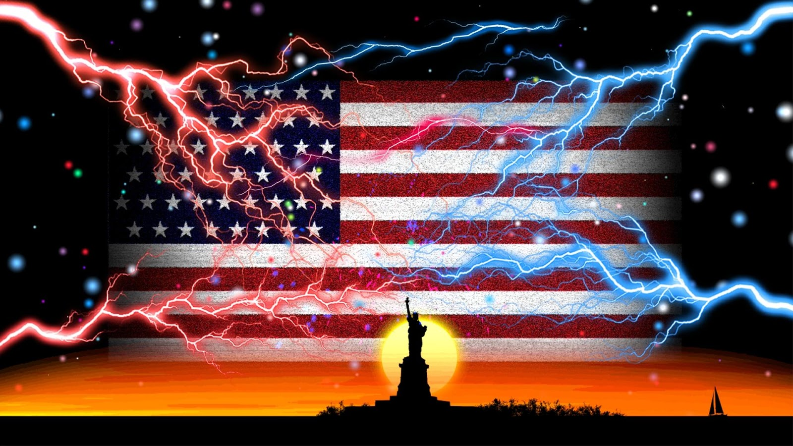 Live Wallpaper USA Flag   Android Apps on Google Play 1600x900