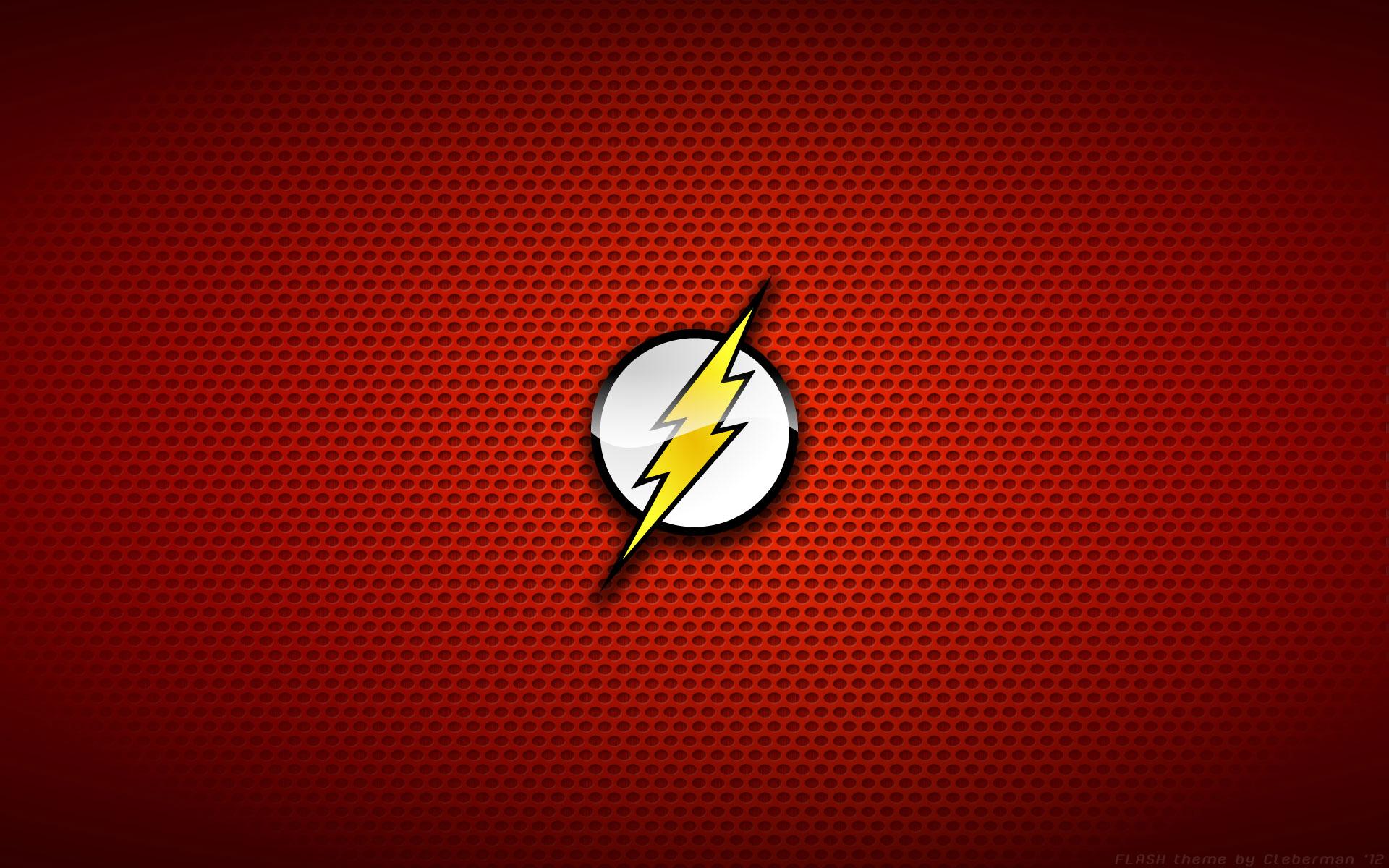the flash logo wallpaper 1920x1200