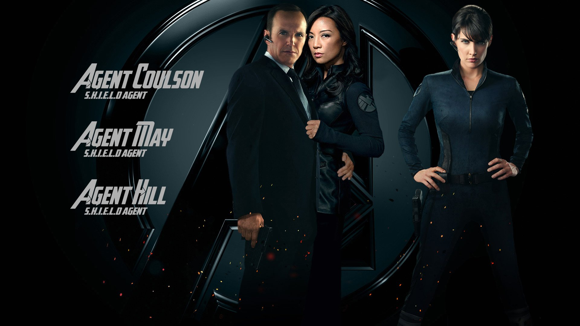 Marvel Agents Of Shield Wallpaper Transartistic