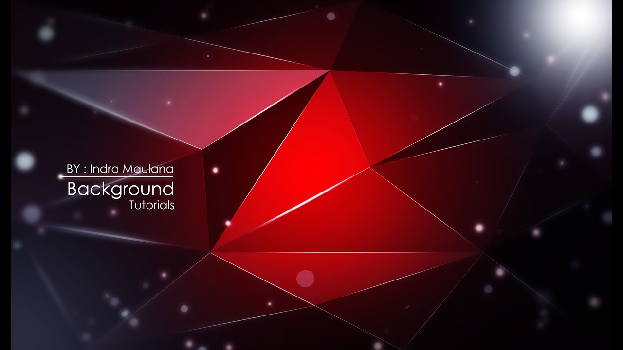How to Create Abstract Background With Adobe Illustrator 1280x720