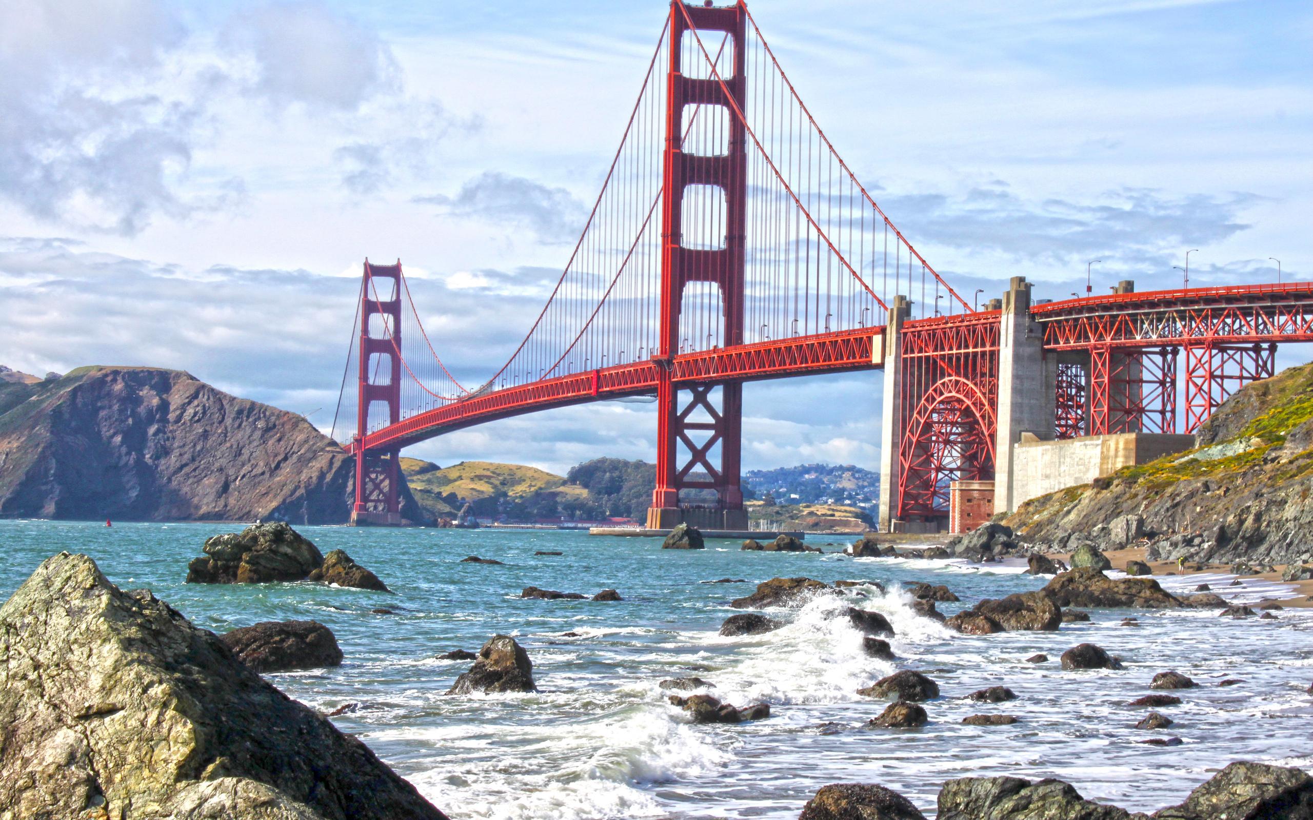 San Francisco Bridge Wallpaper - WallpaperSafari