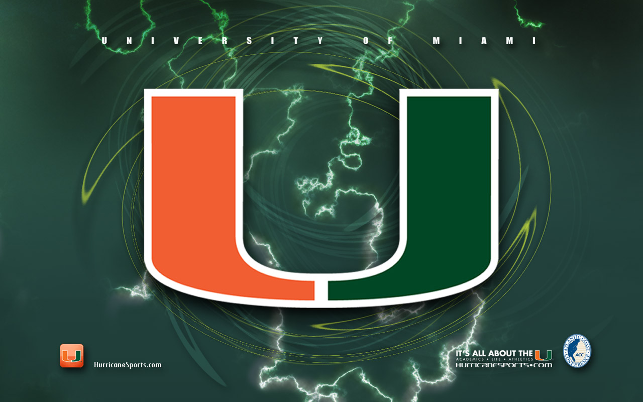 University Of Miami Hurricanes >> University of Miami Football Wallpaper - WallpaperSafari
