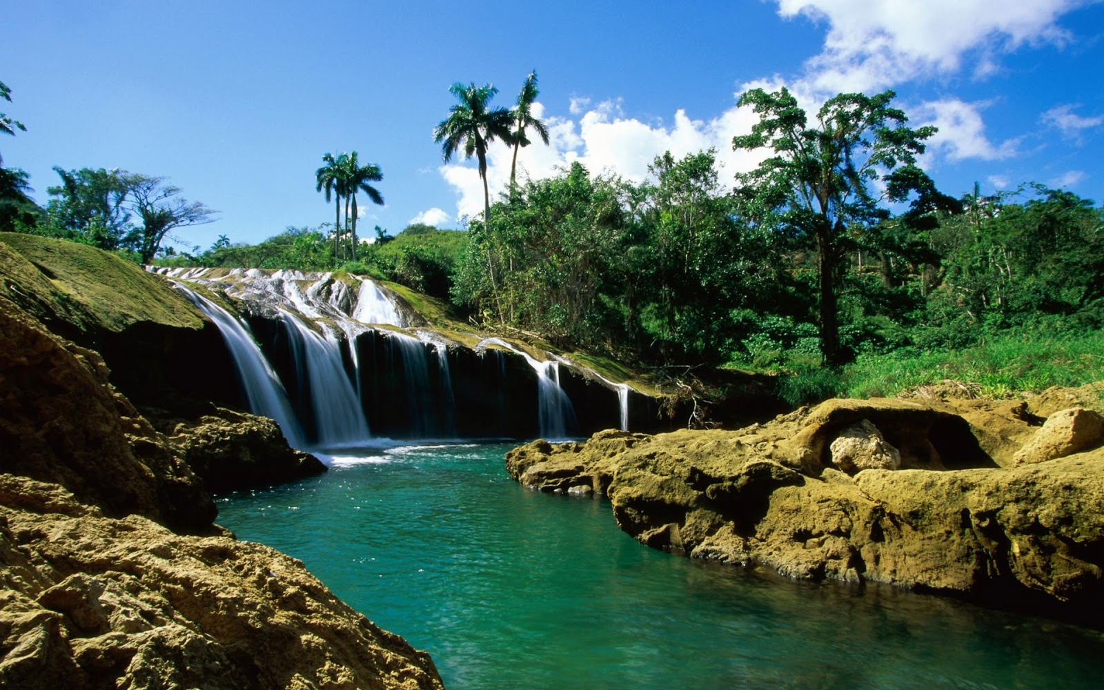 waterfall live wallpaper for android downlaod 3d waterfall 1600x1000