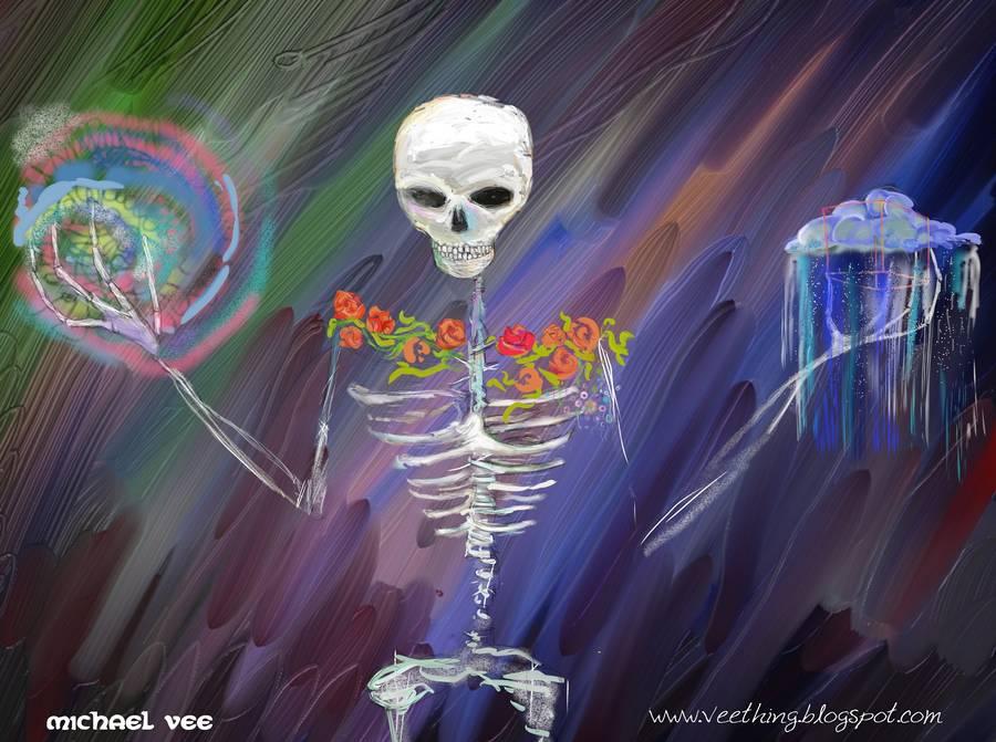 digital Deadhead Wallpaper FREE Download by michaelvee on 900x671