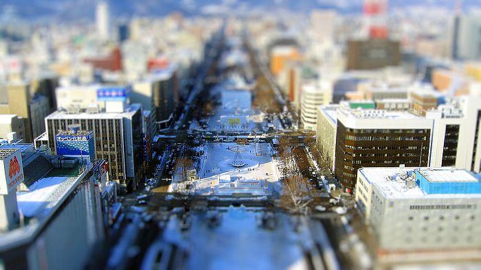 Miniature Scene Wallpapers   Cityscape of Tokyo Tilt shift miniature 700x394