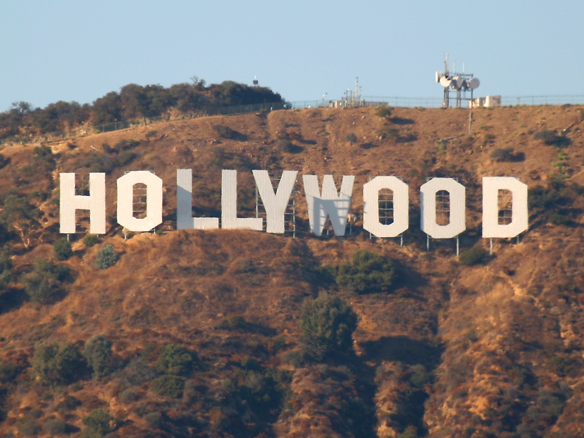 hollywood sign 1152x864