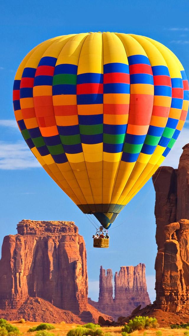 Hot Air Balloon iPhone 5 Wallpaper HD 640x1136