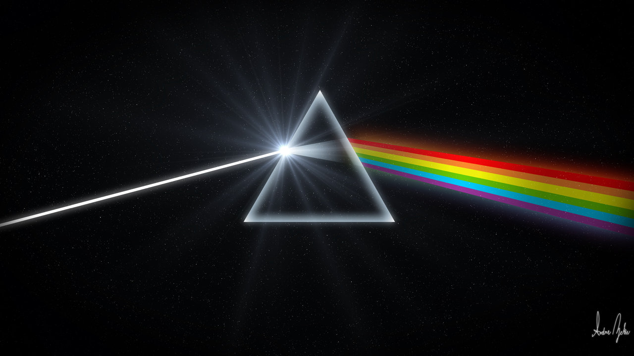 The Dark Side of the Moon Remastered by TheAndrenator 1280x720