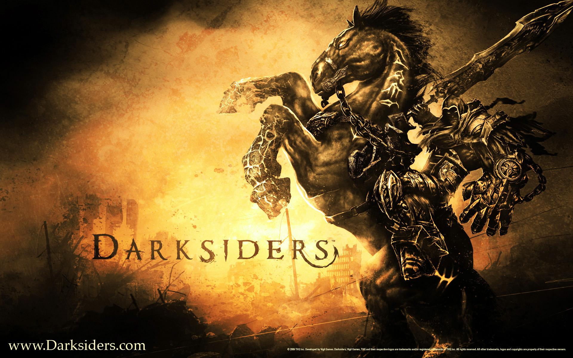 horsemen apocalypse darksiders darksiders 4 horsemen names four horses 1920x1200