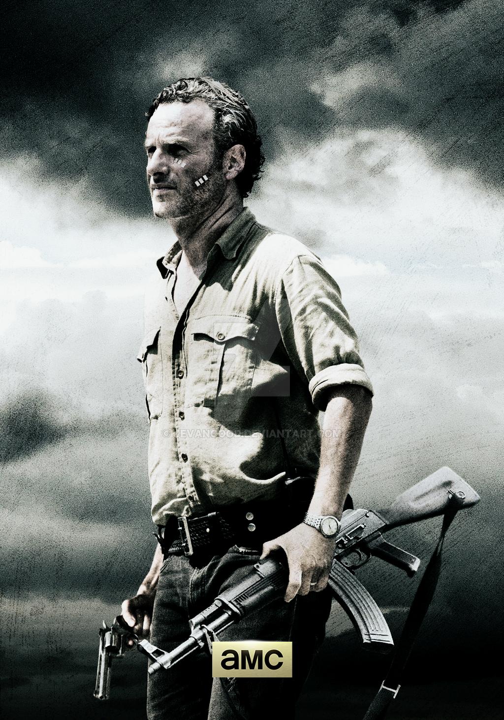 Rick Grimes Season 1 Wallpaper