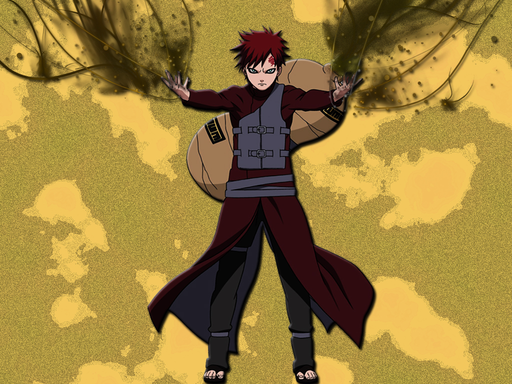 gaara wallpaper 3d gaara wallpaper gaara of the desert wallpaper gaara 1024x768