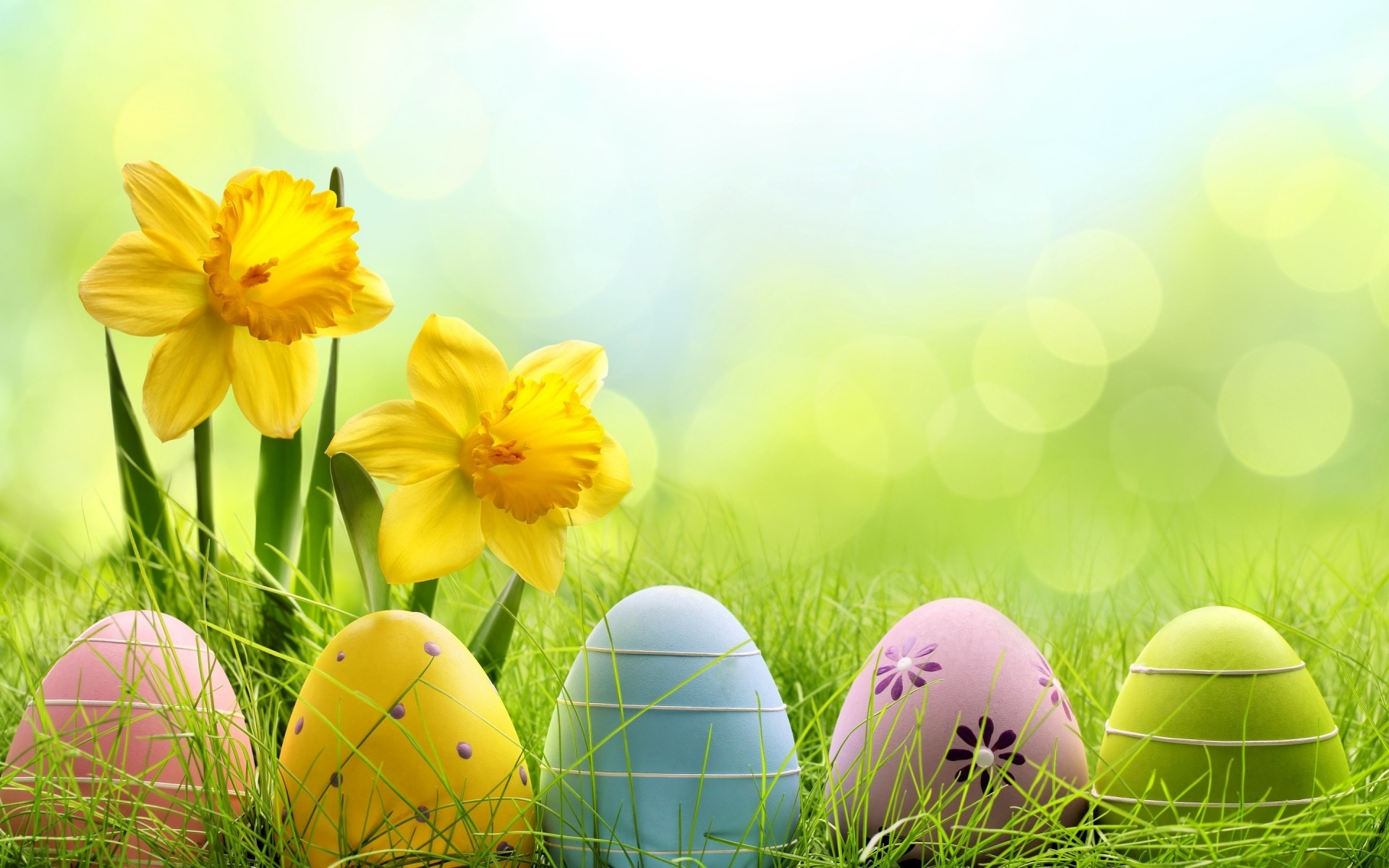 64 Cute Easter Wallpapers on WallpaperPlay 1920x1200