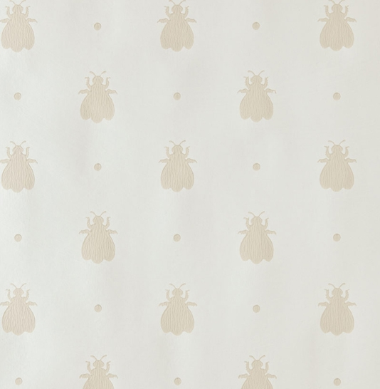 Bumble Bee Wallpaper Off white wallpaper with neutral design of bumble 534x546