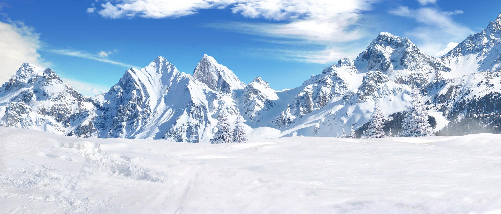 winter background by Palpatine 2000x856