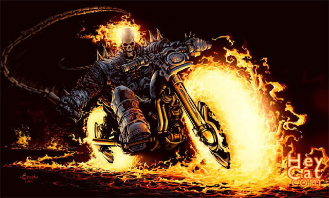 Pin Ghost Rider Screensaver Animated Wallpaper Download Torrent Tpb on 640x386