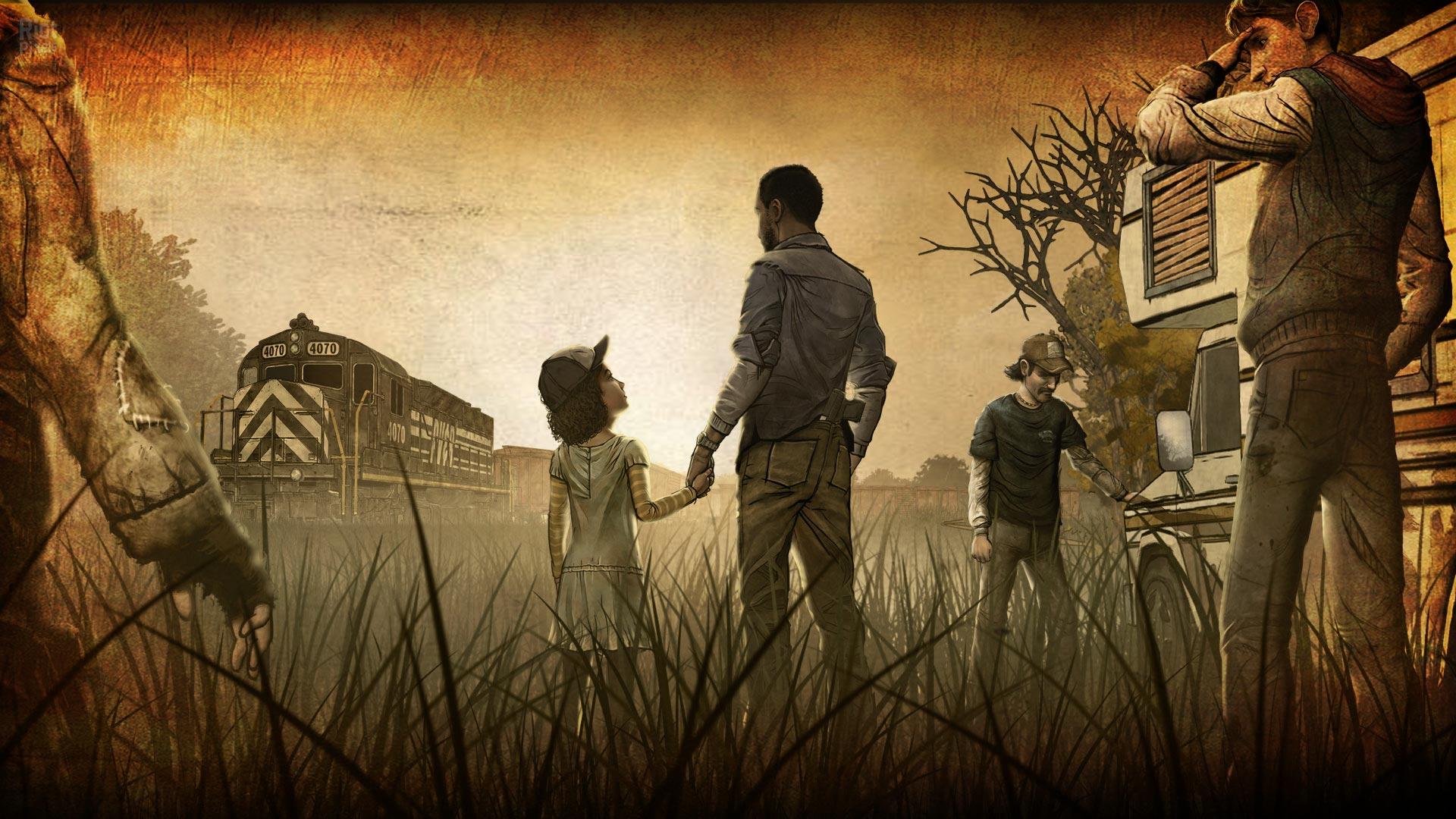 Walking Dead Game Wallpapers 1920x1080