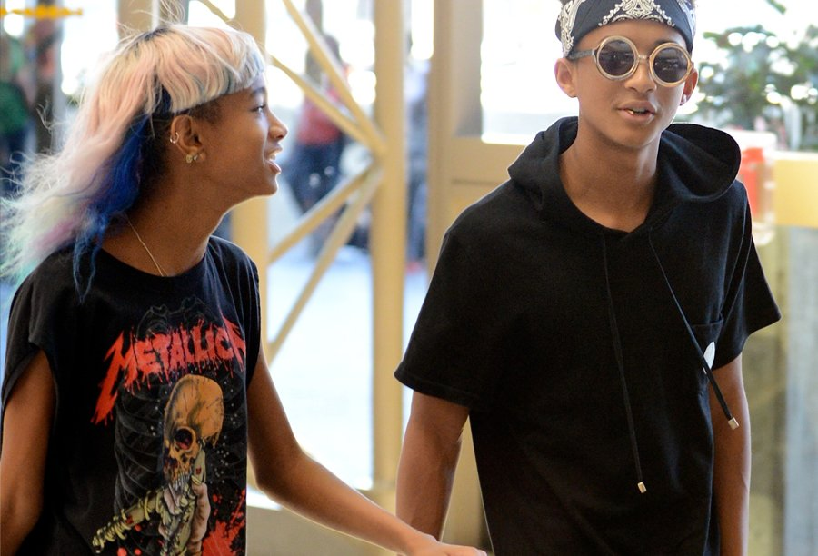 willow smith jaden smith flughafen lax jpg 900x612