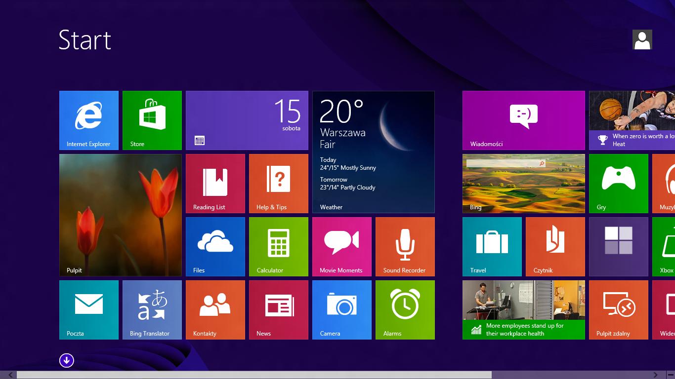 Home Screen Wallpaper Windows 10