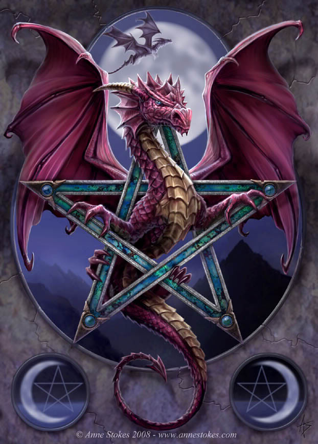 Pagan Dragon Graphics Code Pagan Dragon Comments Pictures 622x866