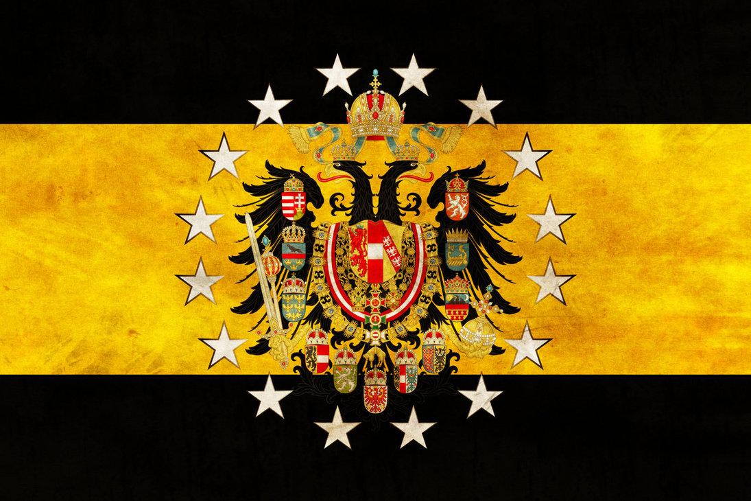Free Download Danubian Federation Grunge Flag By