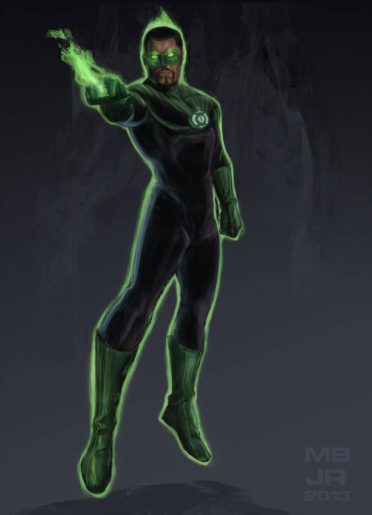 John Stewart The Green Lantern by Drawaholic1124 John stewart 760x1051