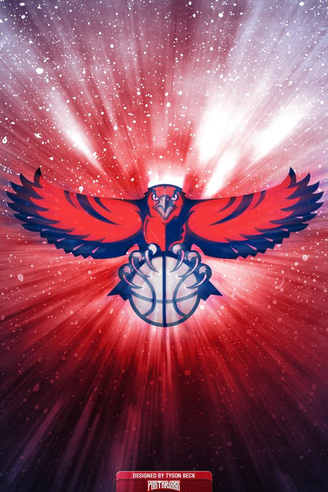 Atlanta Hawks Logo Wallpaper Wallpapersafari